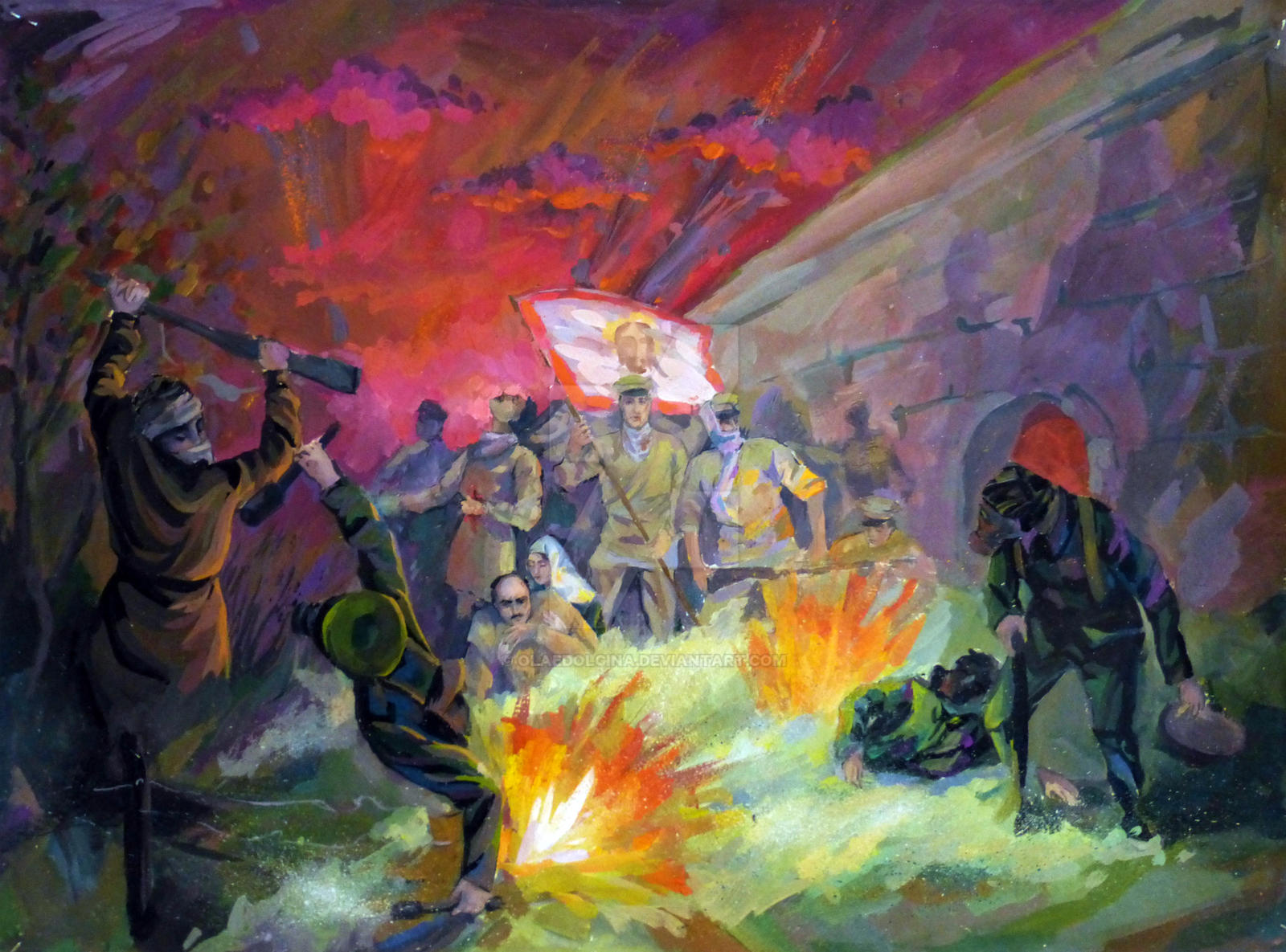 Attack of the dead in the Osovets fortress: only Russians can do that 58