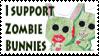 Zombie Bunnie Stamp by Meinona