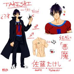 [REF] Satoo Takeshi (Hoseki) by Emo-sanX