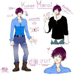 [REF] Konoe Maroi. by Emo-sanX