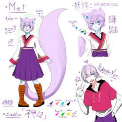 [REF] Mei. by Emo-sanX
