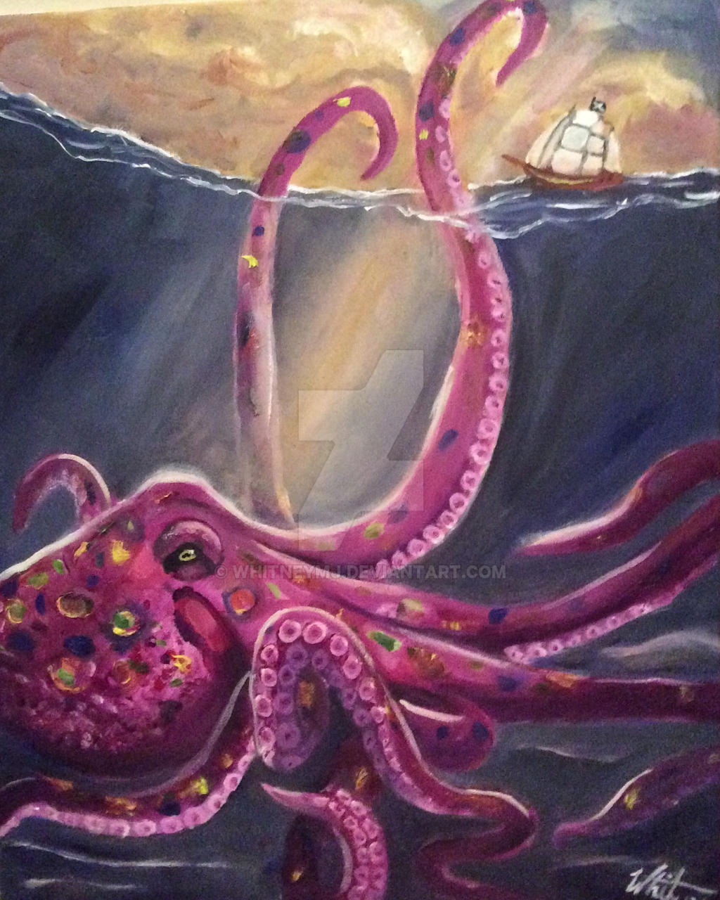 Kraken by WhitneyMJ on DeviantArt
