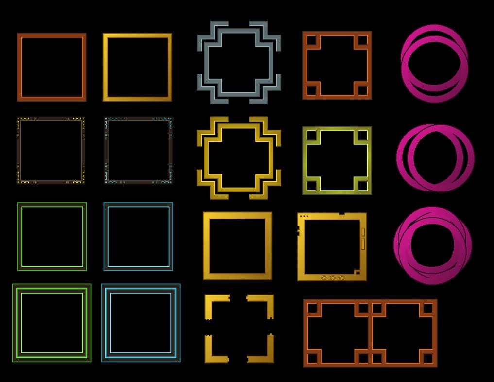 UI Small Frames Black BG by Matseb2611 on DeviantArt