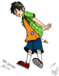 Happy Birthday Junpei by Shun by kyujinueno