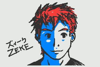 3DS Doodle: Zeke by kyujinueno