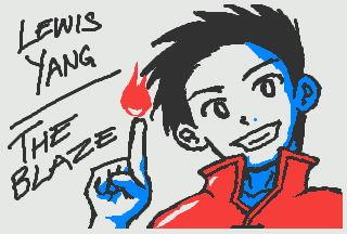 3DS Doodle: Lewis Yang by kyujinueno