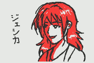 3DS Doodle: Jessica by kyujinueno