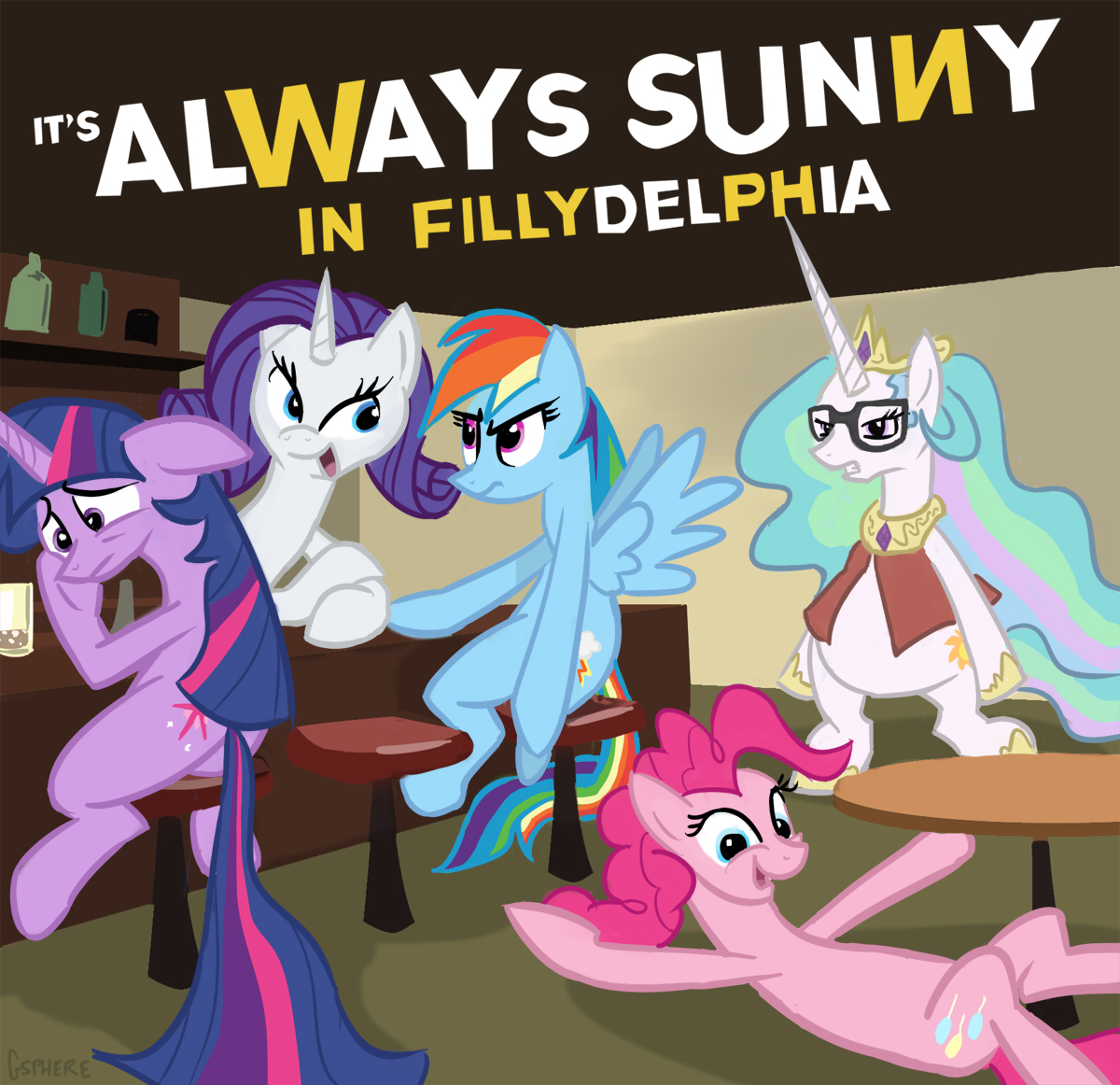 Always Sunny in Fillydelphia by GSphere