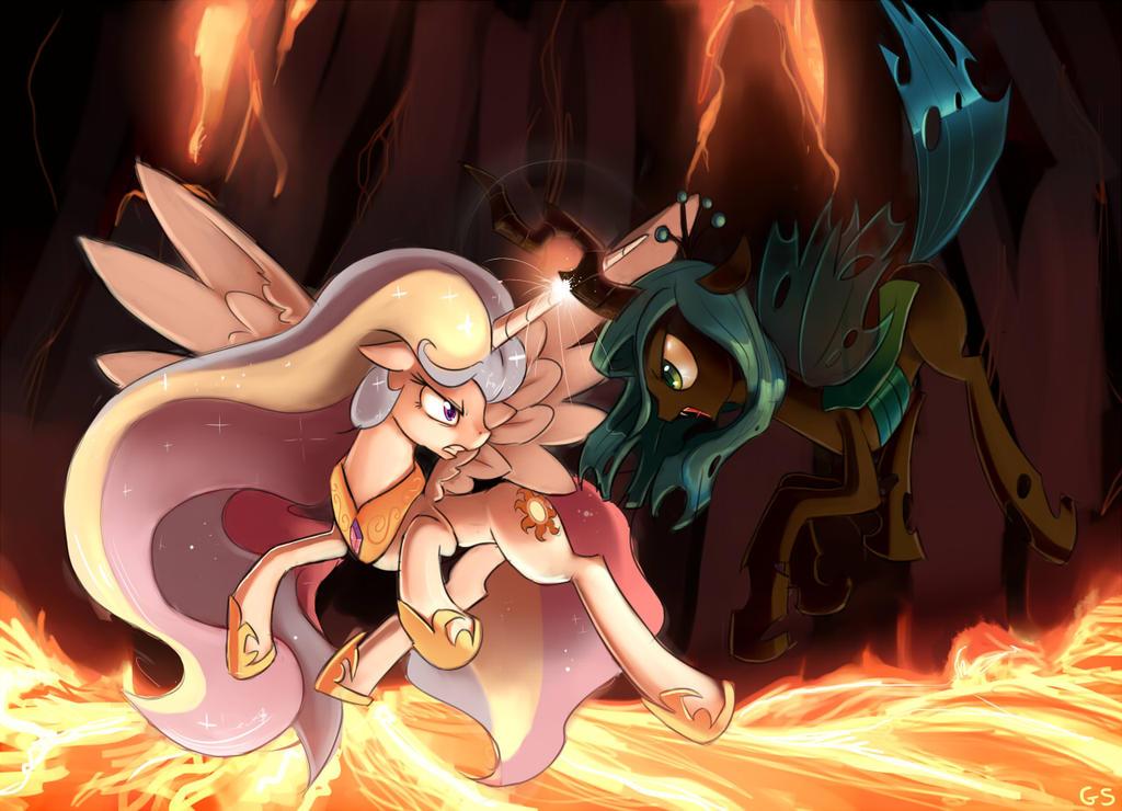 Showdown at Tartarus by GSphere