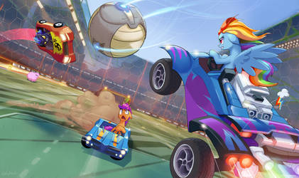 Rocket League: Equestria Edition by GSphere