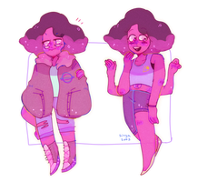 rhodonite + cool clothes by Singa2002