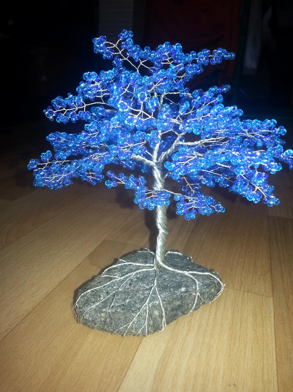Baum 2 Blau by Karo1987