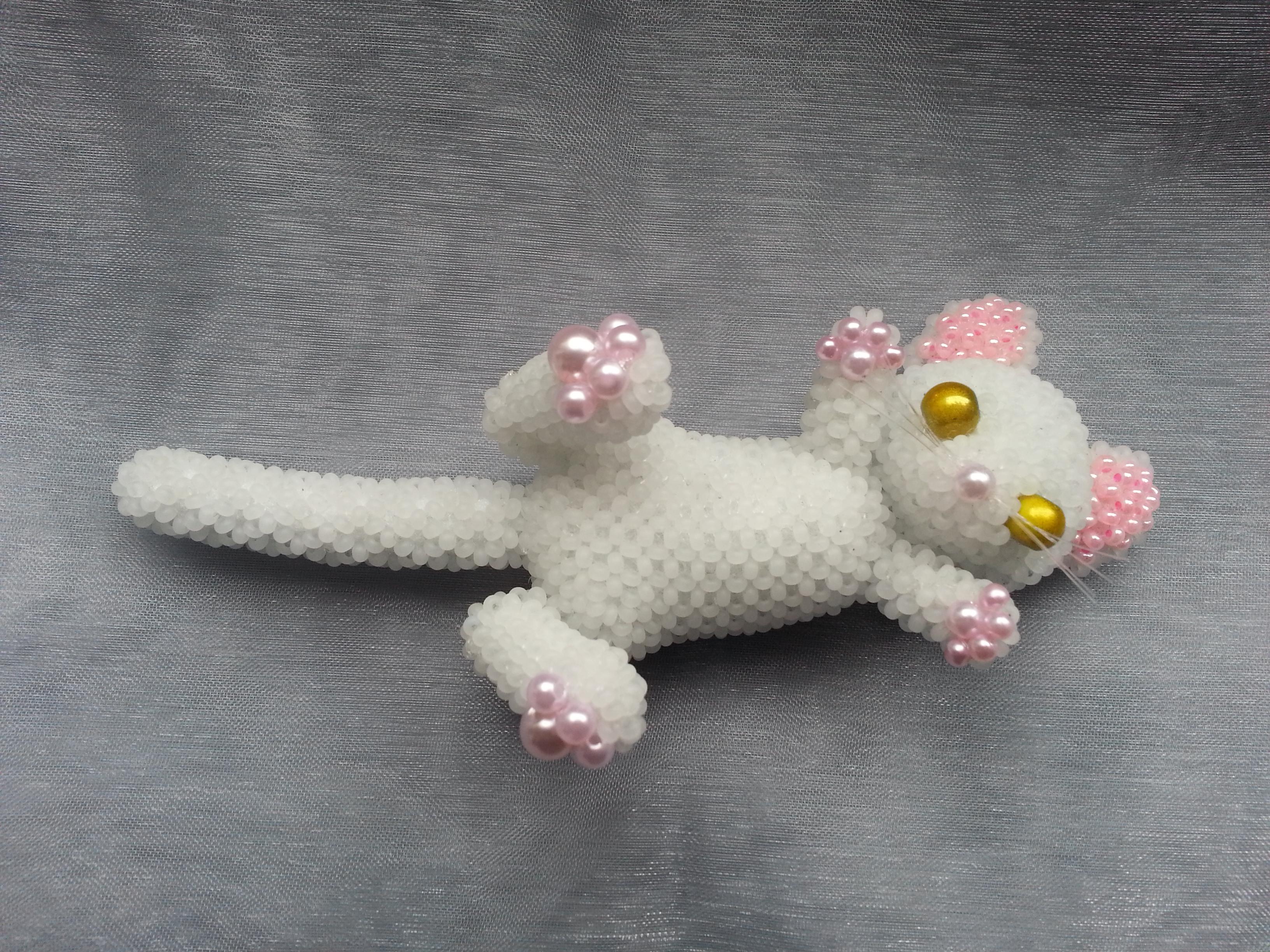 white kitten by Karo1987
