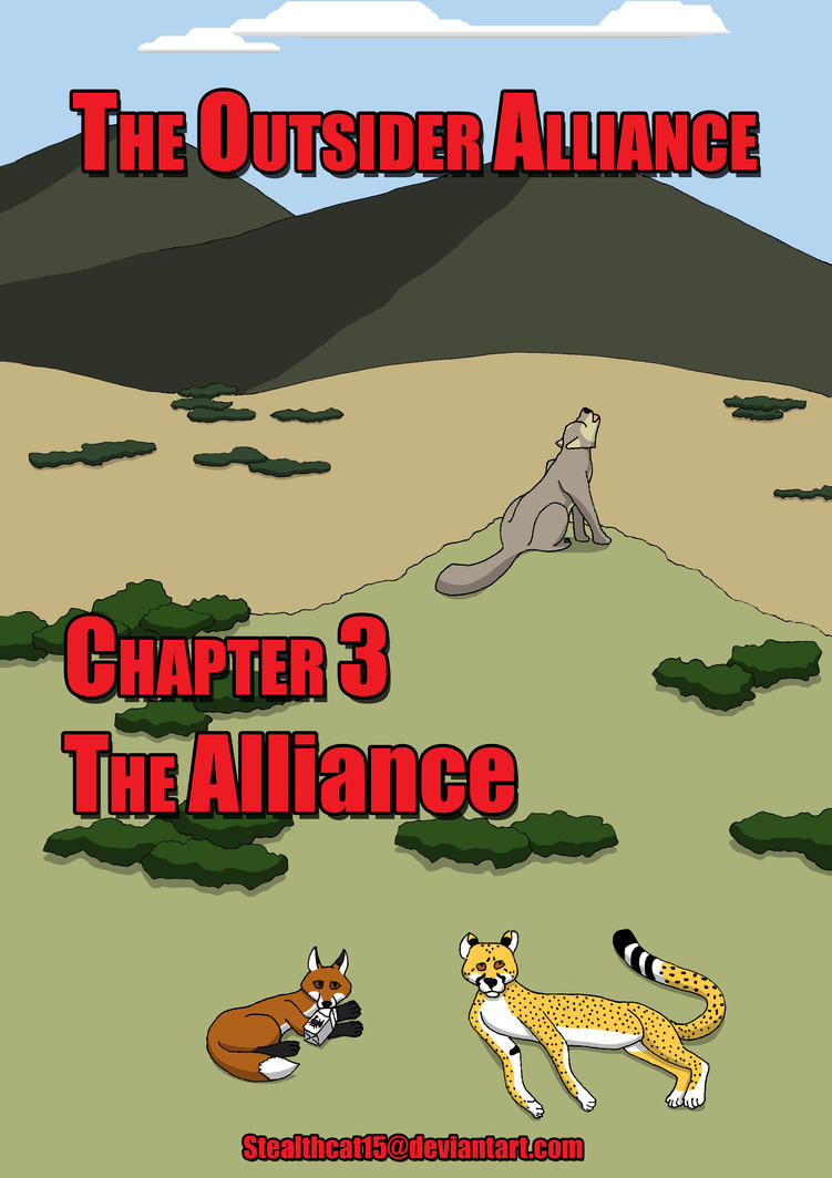 The Outsider Alliance Chapter 3 Cover by StealthCat15