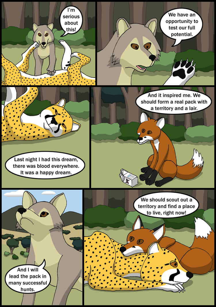 The Outsider Alliance Chapter 3 Page 3 by StealthCat15