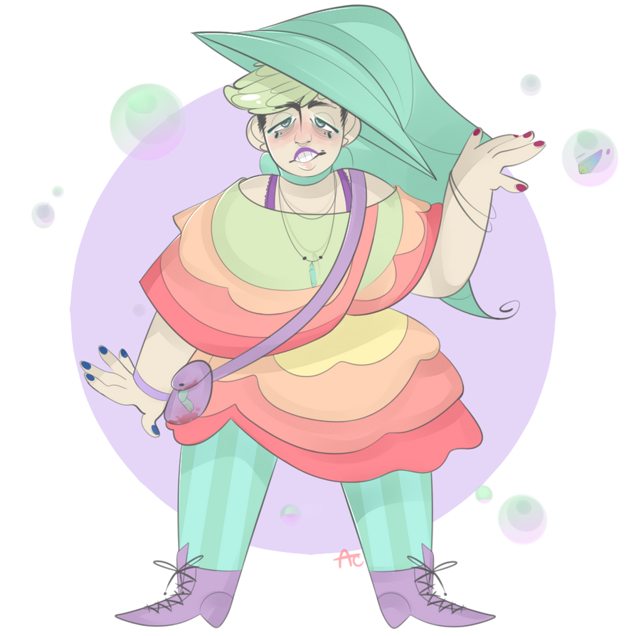 Witch #1: Bubblegum by AestheticCannibal