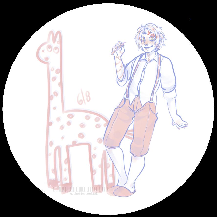 Giraffe by AestheticCannibal