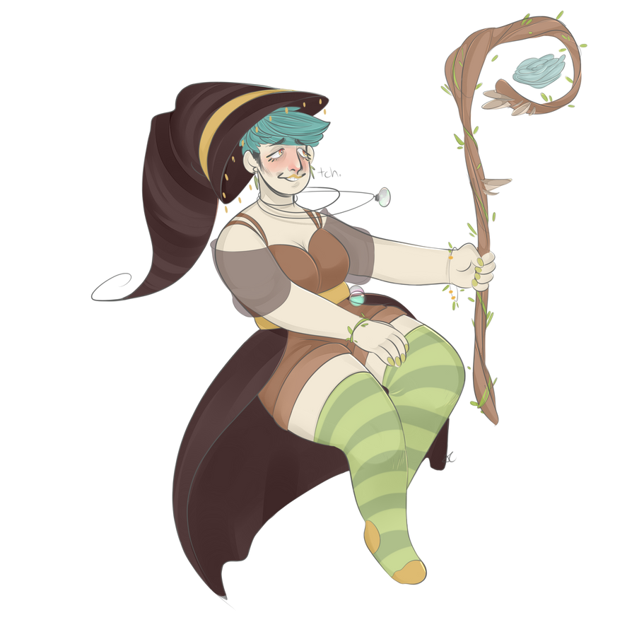 Witch #3: Plants by AestheticCannibal