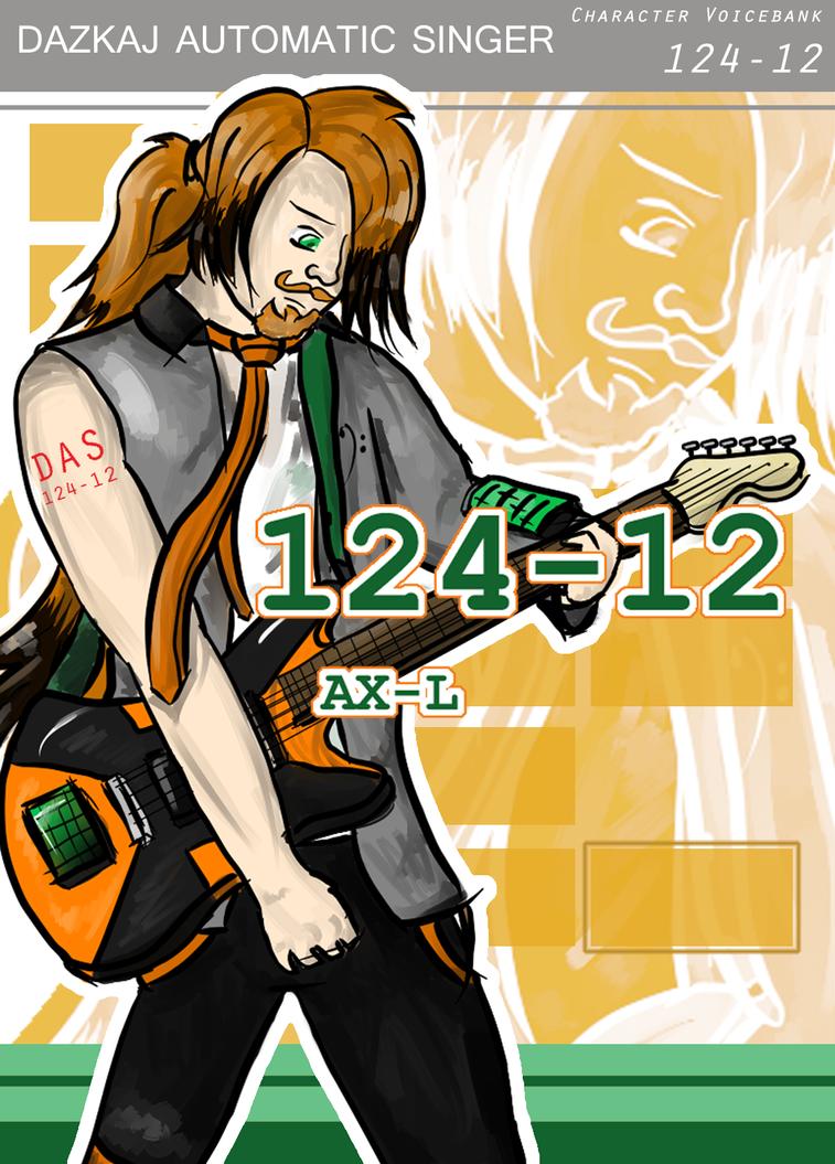 124-12 'AX-L' Vocaloid Fanchar by dazkaj9