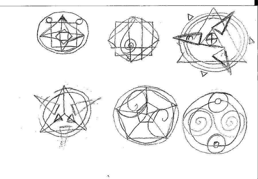 BOF Circles (transmutation) by dazkaj9