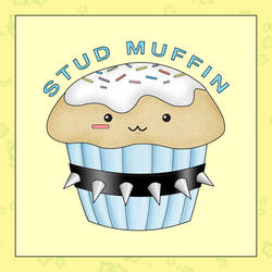 Stud Muffin by squishypuff