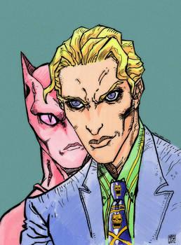 Yoshikage Kira and Killer Queen