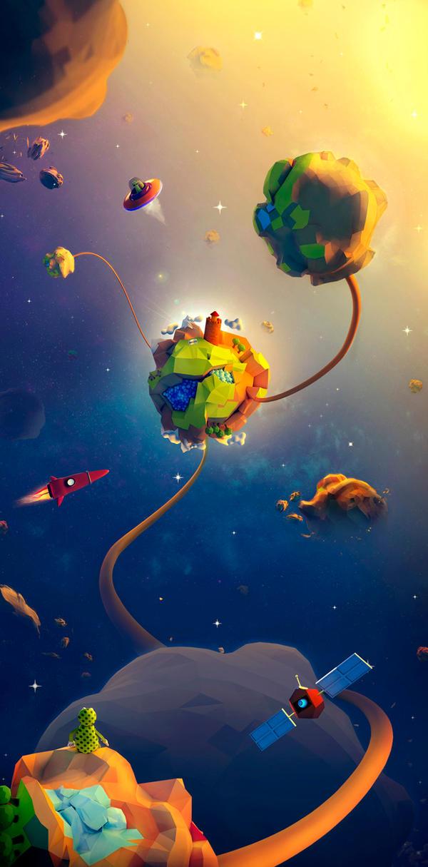 Bright Worlds by TheNaturaGrafic