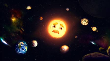 Funny Galaxy by TheNaturaGrafic