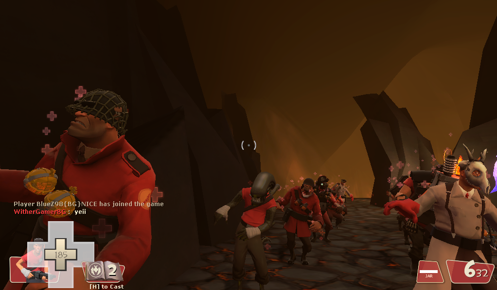 Team Fortress 2 - Xeno Scout Afterlife dance! by Soundwave04
