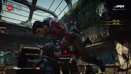 Gears 5 - Karn stabs Kait by Soundwave04