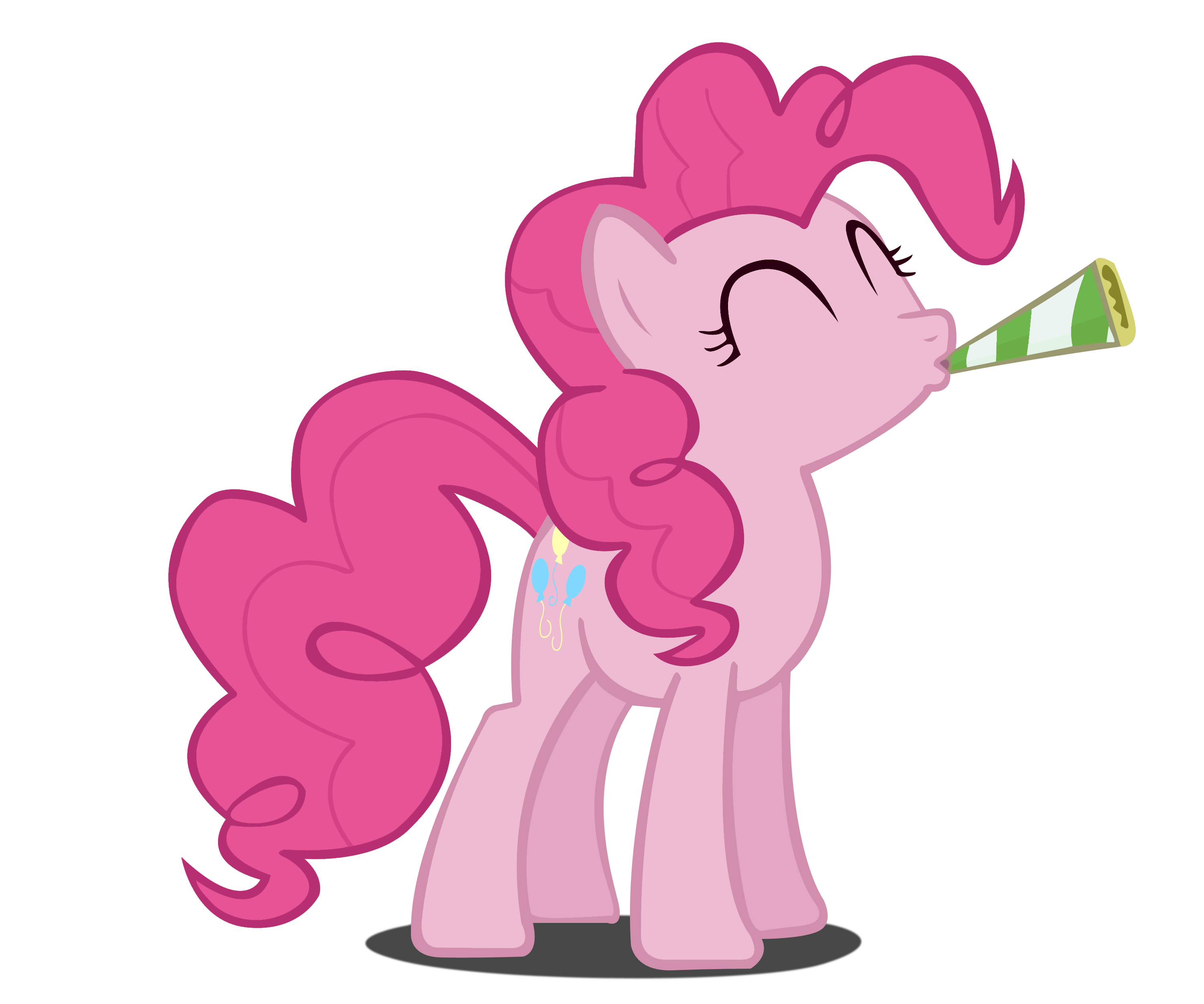 Party Pinkie Pie Vector by Dipi11