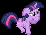 Pondering Twilight Sparkle Vector (Redone)