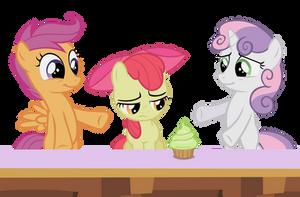 A cupcake oughta cheer you up by Dipi11