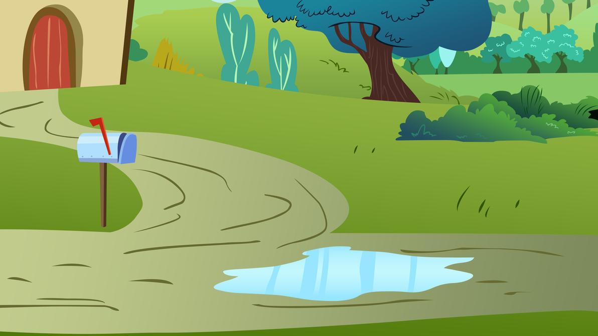 Ponyville Scene 2 by Dipi11