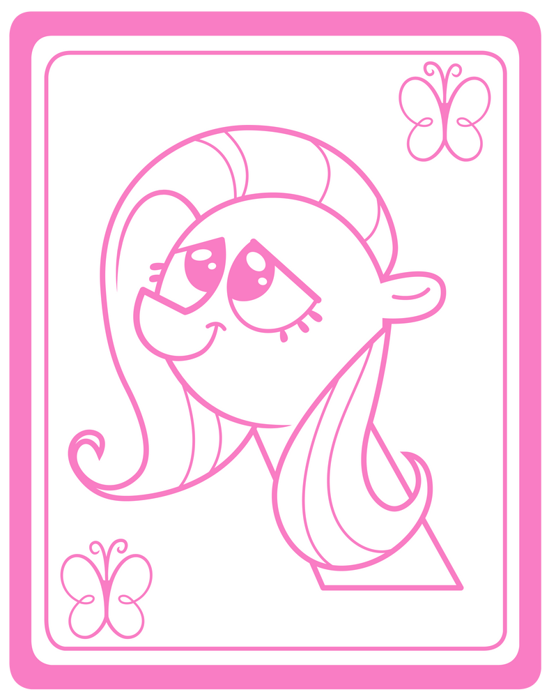 Fluttershy Card by Dipi11
