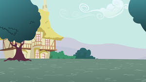 Simple Ponyville Background