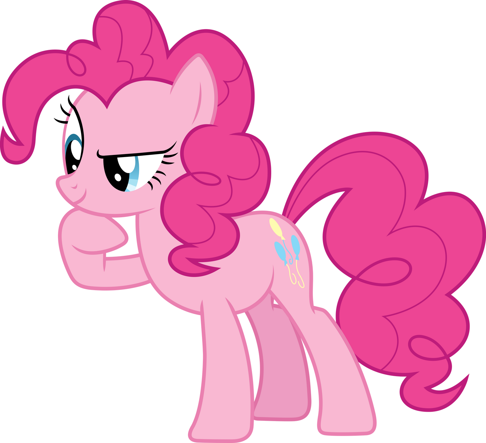 Pinkie Pie in Thought