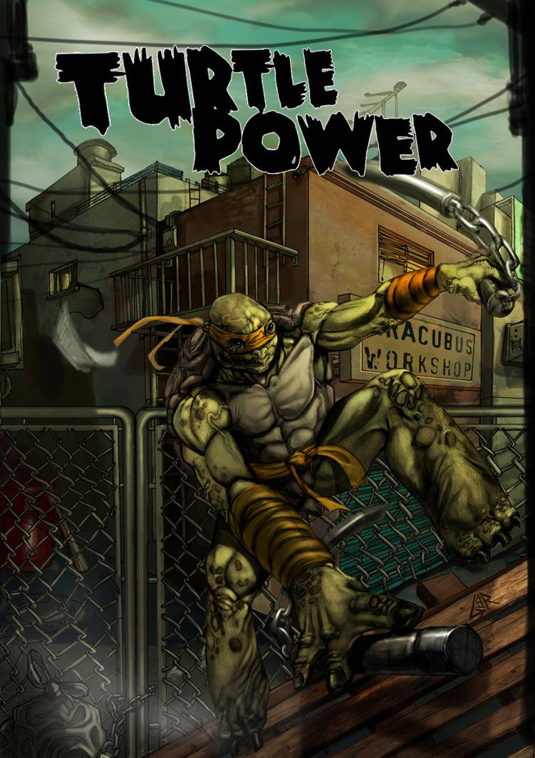 turttle power by Aracubus