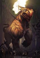 Giant Beast by Aracubus