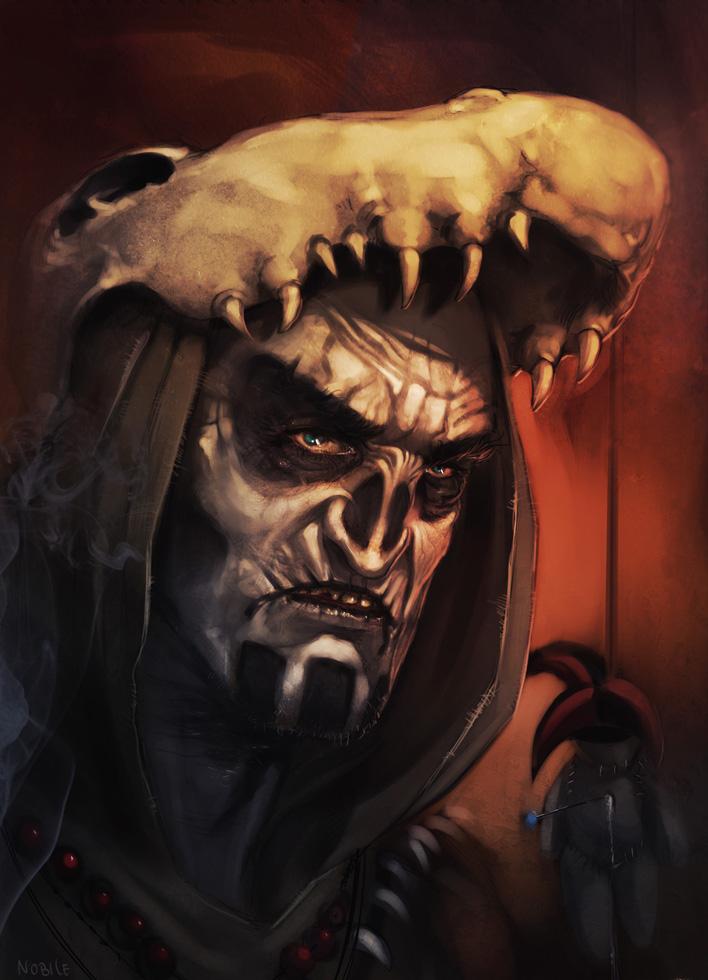 Voodoo Dude. by Aracubus