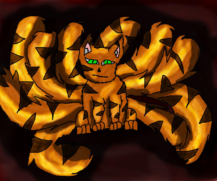 Tailed Beasts Wallpapers: Kyutso 10 Tailed Beast Chibi By The-10th-jinchurriki On