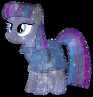 [MLP] Maud Pie Galaxy's Power by MixiePie