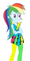 Rainbow Dash by MixiePie