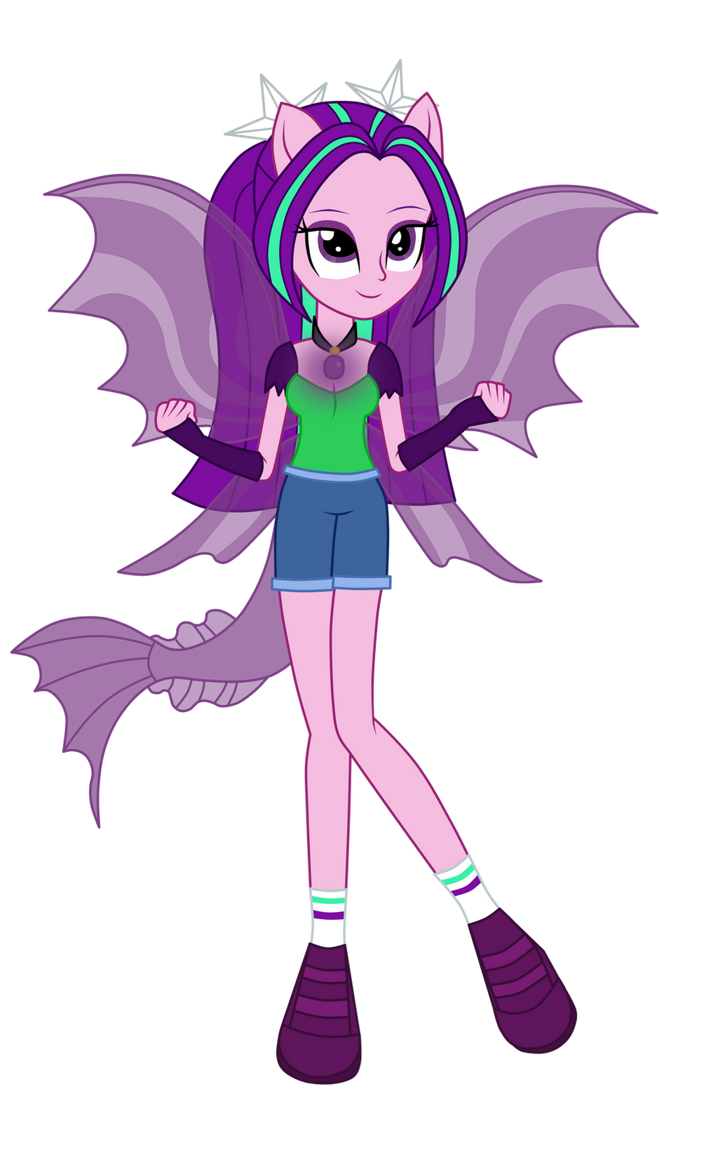 New power aria blaze by mixiepie on deviantart for Cartoni blaze