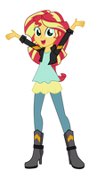 Sunset Shimmer - Friendship Through the Ages by MixiePie