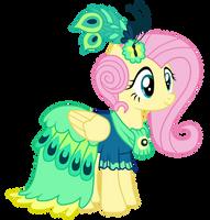 Gala Dress - Fluttershy by MixiePie