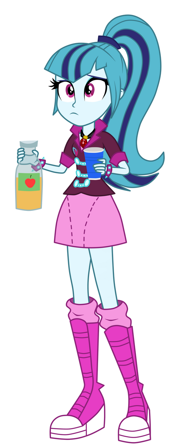 Sonata and the Punch by MixiePie