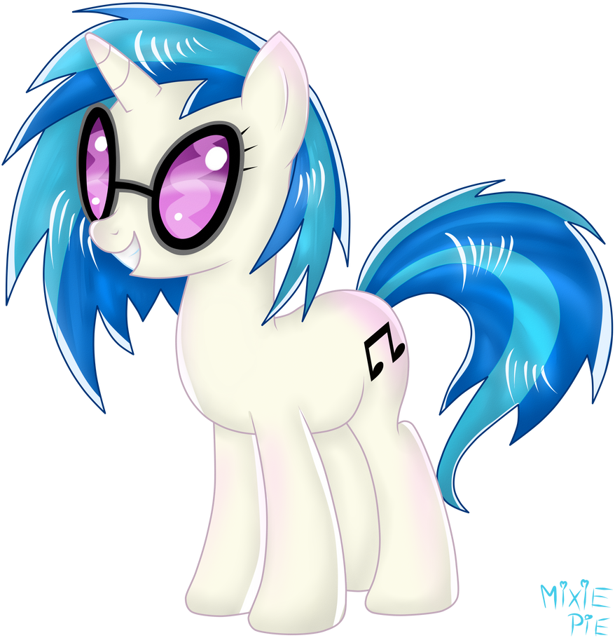 Vinyl Scratch by MixiePie