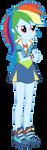 Rainbow Dash - Friendship Games by MixiePie