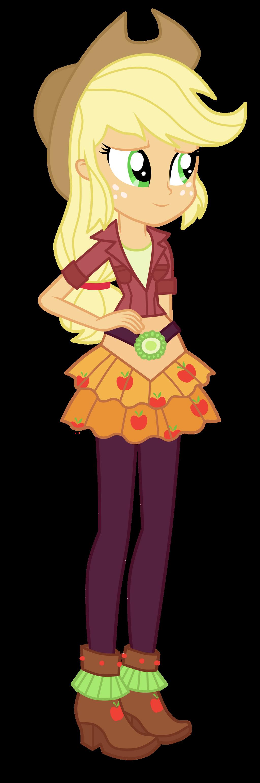 Applejack equestria girls dress